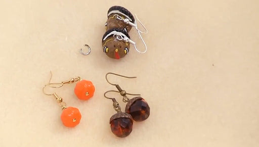 Instructions for Making the Autumn Fun Earring Set Kit