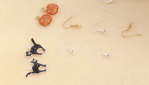 Instructions for Making the Charmed Halloween Earring Set Kit
