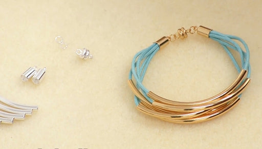 Instructions for Making the Noodle Bead Bracelet Kit