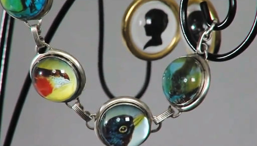 How to Use Glass Domes in Jewelry