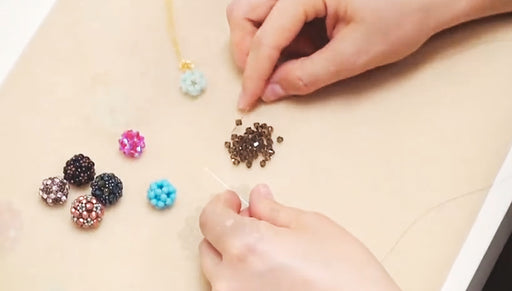 How to Make a Beaded Bead Using Right Angle Weave Double Needle Method