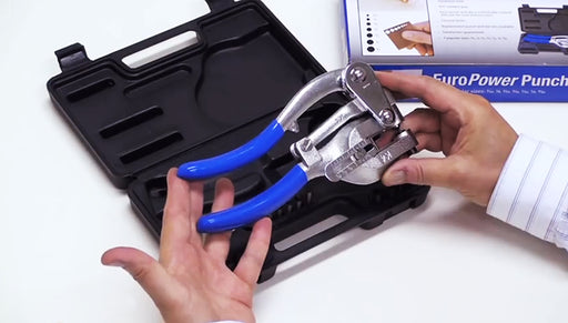 How to Use Eurotool's Power Punch Pliers