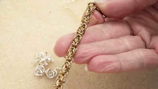 How to do Byzantine Chain Maille Weave