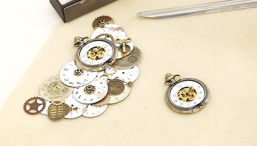 How to Distress and Expose A Pocket Watch
