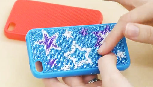 How to Stitch a BeadlePoint Cell Phone Case