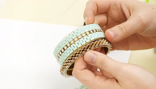 How to Bead Weave a Strip of 2-Hole Brick Beads