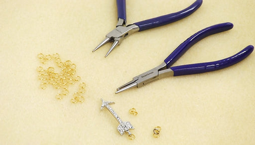How to Use the BeadSmith Split Ring Pliers