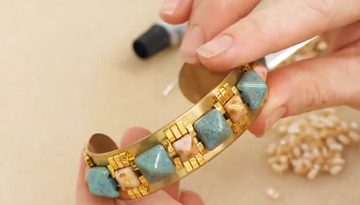 How to Make the Mayan Revival Cuff Bracelet