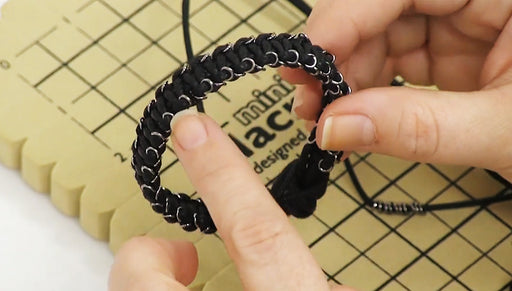 How to Use Closed Jump Rings in Macrame Square Knots