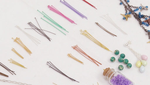 All About Head Pins & Eye Pins for Jewelry Making
