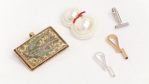 Quick Tip: Use a Brooch Converter to change a Brooch into a Pendant