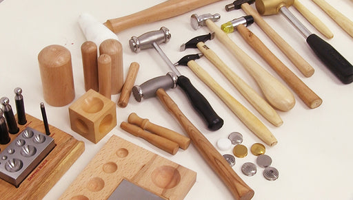 Overview of Hammers and Blocks for Jewlery Making