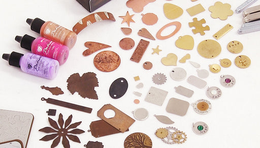 Overview of Stamping Blanks for Jewelry Making