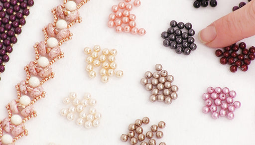 Visual Guide to Swarovski Crystal Pearl Colors