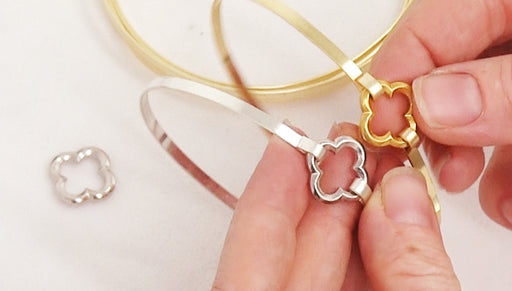 How to Make a Bangle Bracelet using Flat Artistic Wire