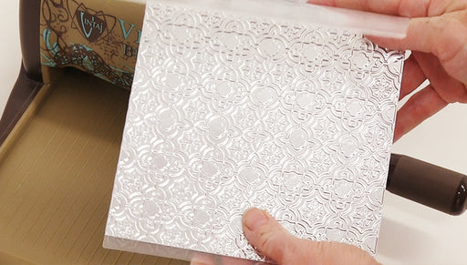 How to Use Vintaj Embossing Folders and Arte Foil Sheets