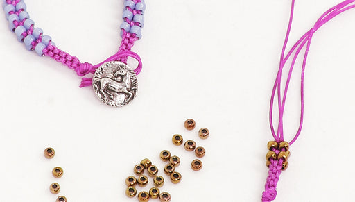 How to Do Box Knotting with Beads