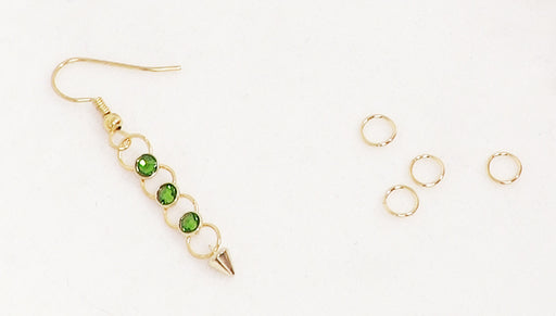 How to Make the Spiked With Envy Earrings