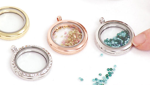 Show & Tell: Floating Lockets