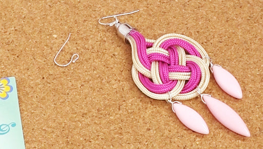 How to Make Chandelier Earrings with Chinese Knotting Cord