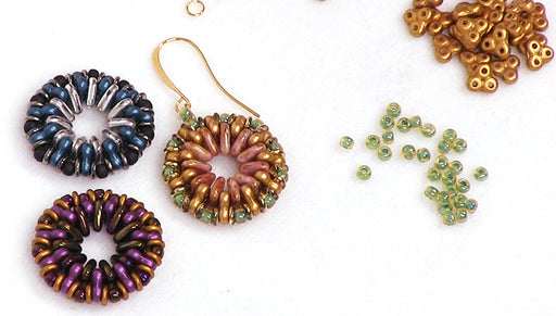 How to Make the Trinity Medallion Earrings