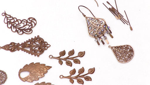 How to Make the Vintaj Cecilia Earrings