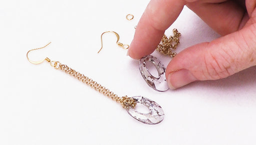 How to Make Lark's Head Helios Earrings