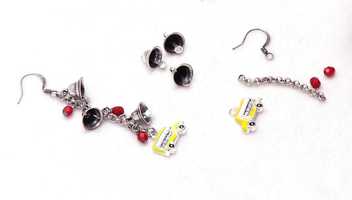 How to Make the Schoolhouse Earrings