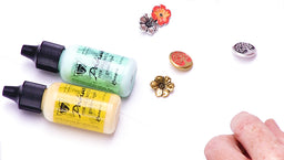 How to Use Vintaj Patinas to Add Color to Buttons