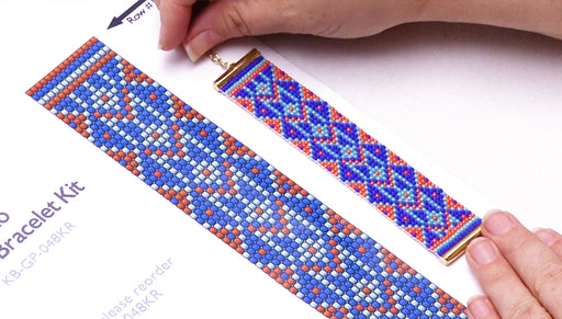 How to Read a Bead Loom Pattern