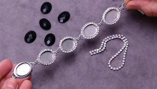 How to Add Cup Chain to a Nunn Design Bezel Bracelet