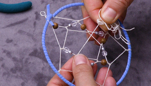 How to Make a Dream Catcher Hoop