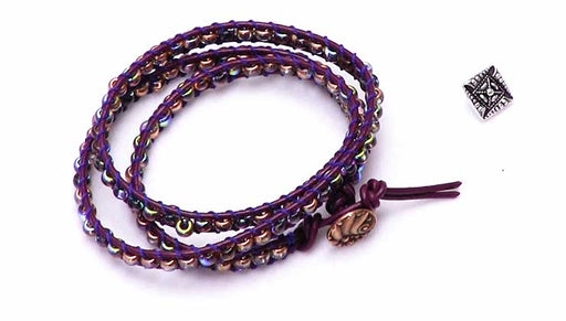 How to Make a Triple Wrap Bracelet Using the Wrapit Loom