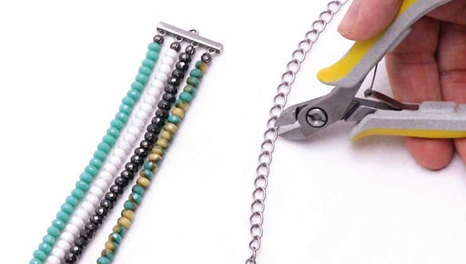 How to Make a Multi-Strand Bracelet using Strand Reducers