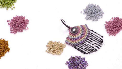 Show and Tell: Miyuki Delica Glazed Finish Seed Beads