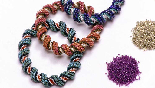 How to Make the Cellini Spiral Bracelet Kits by Beadaholique