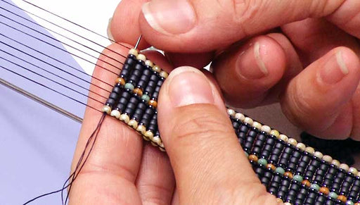 How to Use Micro Spacers and Demi Rounds in Loom Work