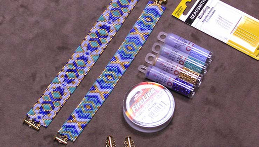 How to Make the Odd Count Peyote Duo Bracelet Kits by Beadaholique