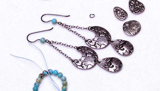 How to Make the TierraCast Vida Mas Dulce Earrings