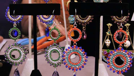 Beadaholique Live Class: Statement Earrings