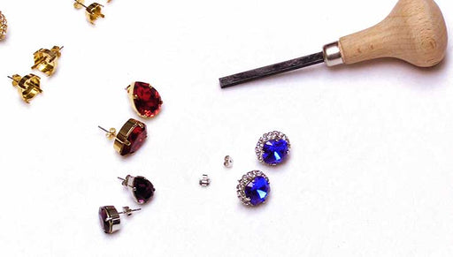 How to Use the Beadsmith Prong Pusher with Gita Settings for Swarovski Crystal