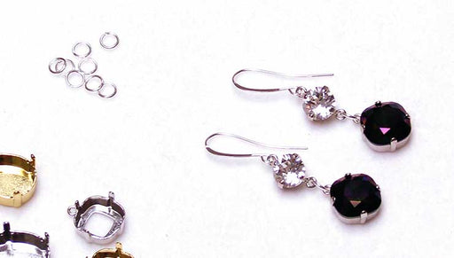 Quick & Easy DIY Jewelry: The Slick Night Earrings