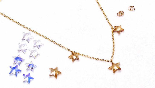 Quick & Easy DIY Jewelry: The Stargazer Necklace