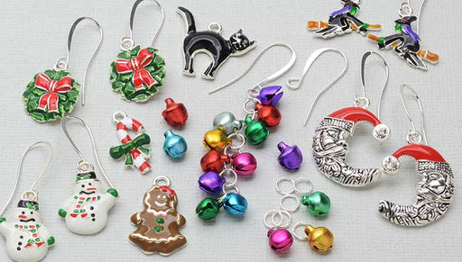 How to Make the Holiday Earring Trio Kits by Beadaholique
