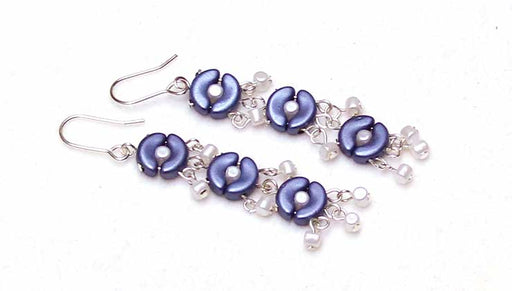How to Make the Bubbles and Waves Earrings