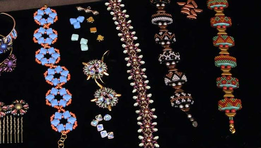 Beadaholique Live Class: Designing with 2-Hole Beads
