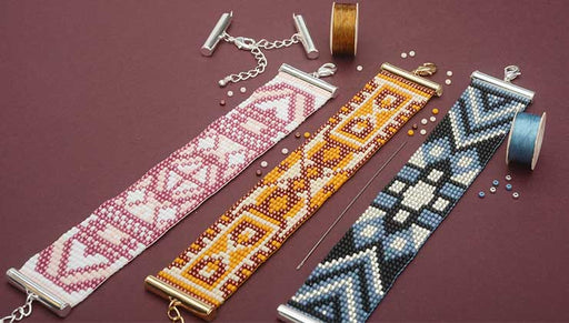 How to Make the Loom Bracelet Kits by Beadaholique