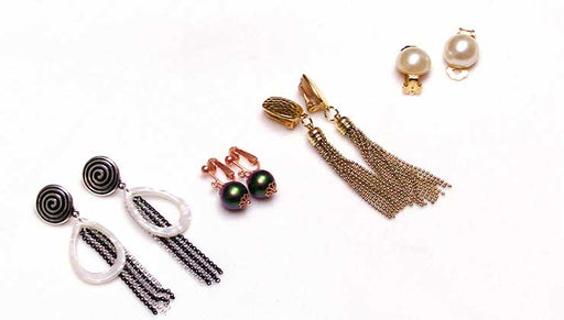 How to Make Four Unique Pairs of Clip On Earrings