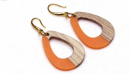 Quick & Easy DIY Jewelry: Clementine Drop Earrings