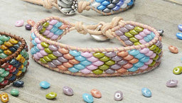 How to Make the SuperDuo Wrapit Loom Bracelet Kits by Beadaholique
